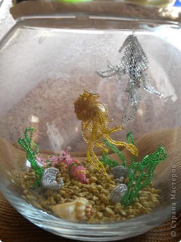 аквариум из бисера фото 3