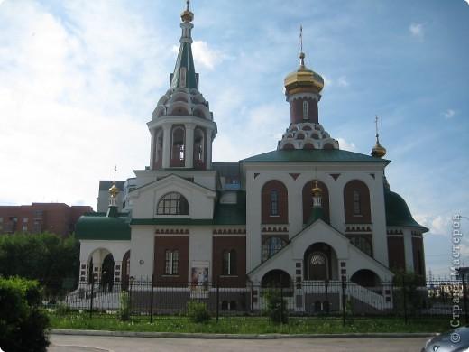 Денёк выдался чудесный, и я снова пошла на встречу с Тюменью. Одна из церквей нашего города. фото 3