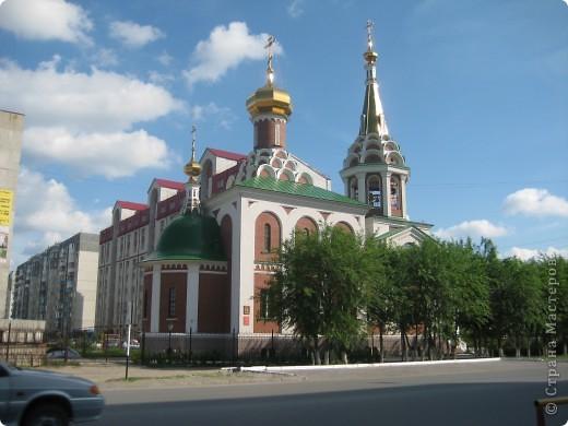 Денёк выдался чудесный, и я снова пошла на встречу с Тюменью. Одна из церквей нашего города. фото 1