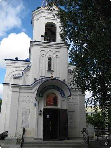 Денёк выдался чудесный, и я снова пошла на встречу с Тюменью. Одна из церквей нашего города. фото 10