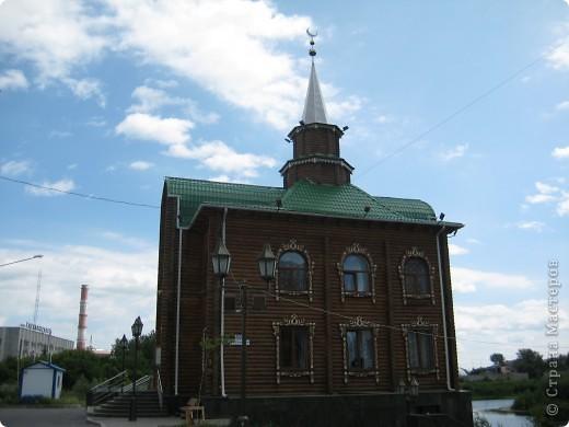 Денёк выдался чудесный, и я снова пошла на встречу с Тюменью. Одна из церквей нашего города. фото 48