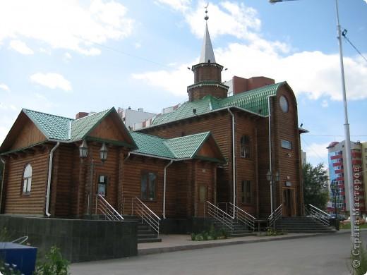 Денёк выдался чудесный, и я снова пошла на встречу с Тюменью. Одна из церквей нашего города. фото 49