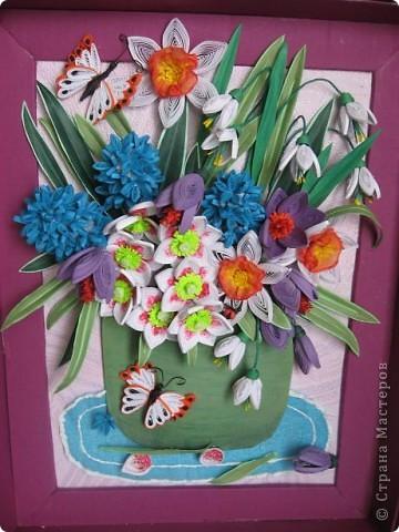 На дворе в разгаре лето, а у меня расцвела охапка весенних цветов. фото 1