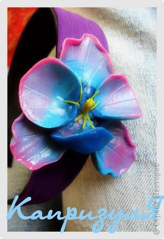 ободок орхидея фото 1