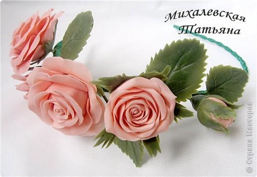 Вот такой ободок я сделала для своей доченьки )))))) фото 2