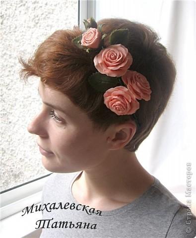 Вот такой ободок я сделала для своей доченьки )))))) фото 5