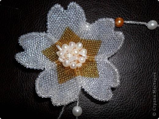 колье со съёмным цветком фото 2