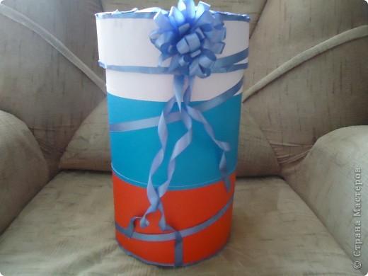 Это коробка, которую я сделала для куклы Гаишник.  фото 1