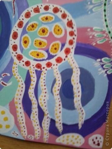 Рисовала по веб-уроку Мальчихиной Марии Александровны http://edu.of.ru/studiosk/default.asp?ob_no=52207 Спасибо большое за такой подробный мастер-класс!!!  Работу выполняла сразу в двух вариантах - фон поярче фото 5