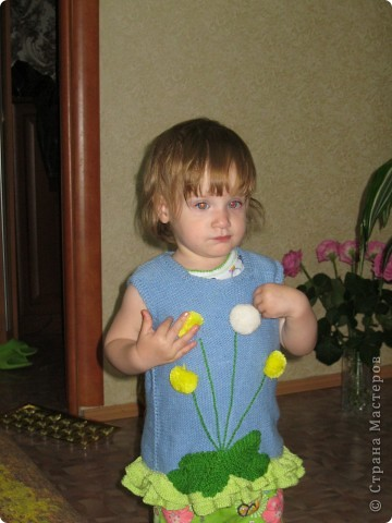 безрукавочка для малышки! фото 1