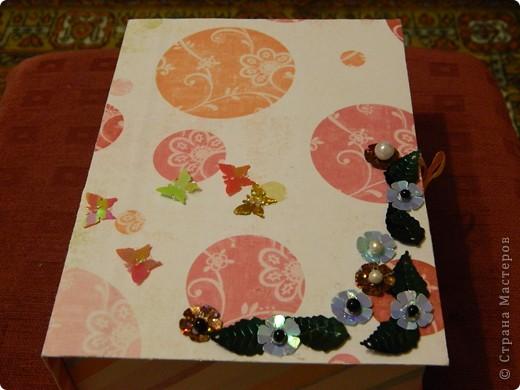 Подарочный коробок или коробочка для всяких мелочей фото 1
