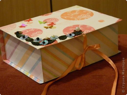 Подарочный коробок или коробочка для всяких мелочей фото 2