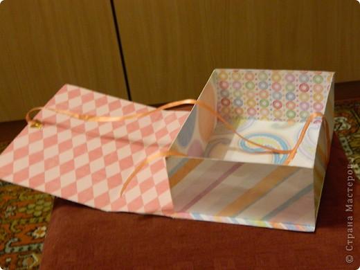 Подарочный коробок или коробочка для всяких мелочей фото 3