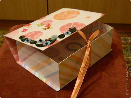 Подарочный коробок или коробочка для всяких мелочей фото 6