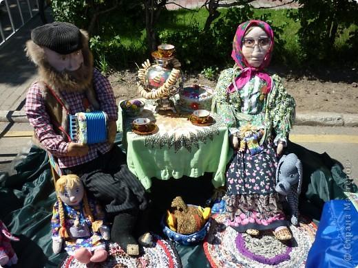 """У нас в Нижнем Новгороде каждый год проходит выставка-продажа """"Город мастеров"""". Здесь можно увидеть множество работ, выполненных в самых различных техниках. Хочу показать несколько работ, которые понравились мне больше всего. фото 4"""