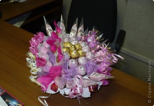 Букет в розовых тонах  фото 1