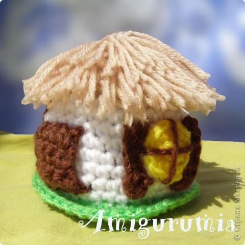 Амигуруми украинская хата