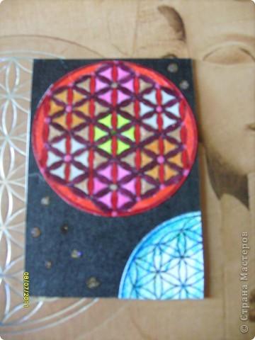 Цветок Жизни -это простой геометрический узор, заключающий в себе все тайны мироздания......... Друнвало Мельхиседек - физик по образованию, член эзотерического ордена Мельхиседеков , прошедший обучение у 70 духовных учителей самых разных традиций....  фото 14