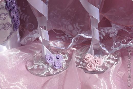Свадебный набор в моём исполнении ))) Думаю получилось симпатичненько)))) фото 4