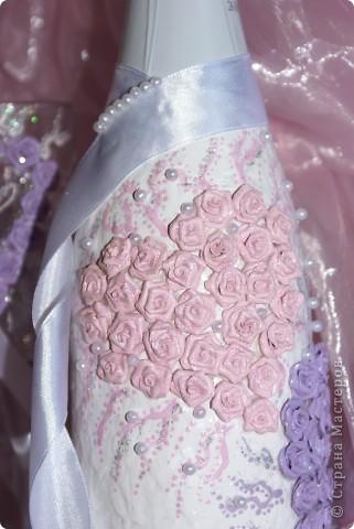 Свадебный набор в моём исполнении ))) Думаю получилось симпатичненько)))) фото 6