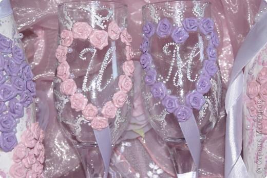 Свадебный набор в моём исполнении ))) Думаю получилось симпатичненько)))) фото 2