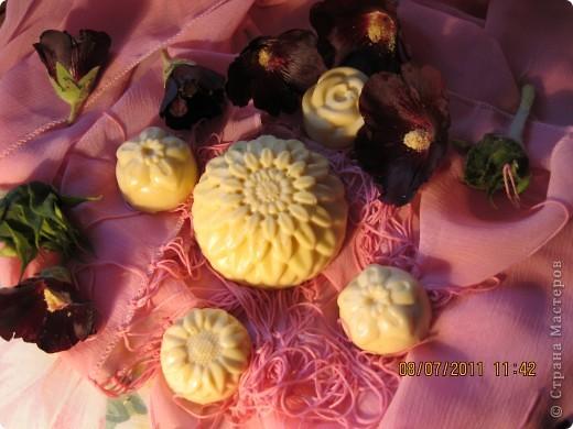 Мыльные букашки и цветы из детского мыла.  фото 3