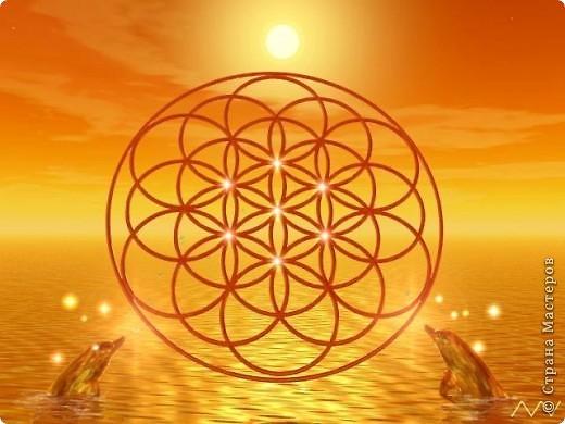 Цветок Жизни -это простой геометрический узор, заключающий в себе все тайны мироздания......... Друнвало Мельхиседек - физик по образованию, член эзотерического ордена Мельхиседеков , прошедший обучение у 70 духовных учителей самых разных традиций....  фото 3