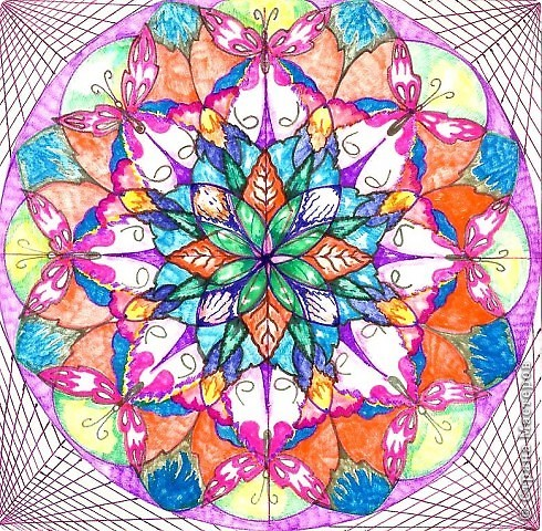 Цветок Жизни -это простой геометрический узор, заключающий в себе все тайны мироздания......... Друнвало Мельхиседек - физик по образованию, член эзотерического ордена Мельхиседеков , прошедший обучение у 70 духовных учителей самых разных традиций....  фото 6