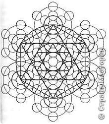 Цветок Жизни -это простой геометрический узор, заключающий в себе все тайны мироздания......... Друнвало Мельхиседек - физик по образованию, член эзотерического ордена Мельхиседеков , прошедший обучение у 70 духовных учителей самых разных традиций....  фото 7