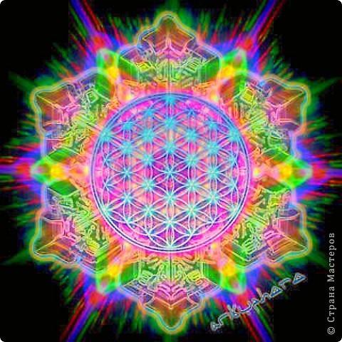 Цветок Жизни -это простой геометрический узор, заключающий в себе все тайны мироздания......... Друнвало Мельхиседек - физик по образованию, член эзотерического ордена Мельхиседеков , прошедший обучение у 70 духовных учителей самых разных традиций....  фото 9