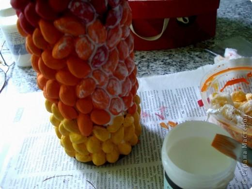 Мой первый декор - ВАЗА фото 13