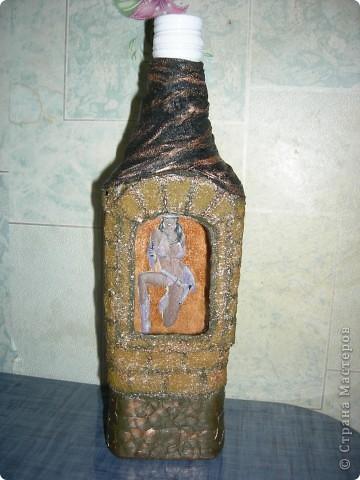 """бутылка """"Домик"""""""
