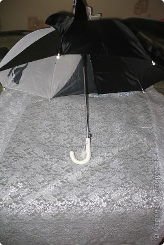 сделала новый зонт фото 3