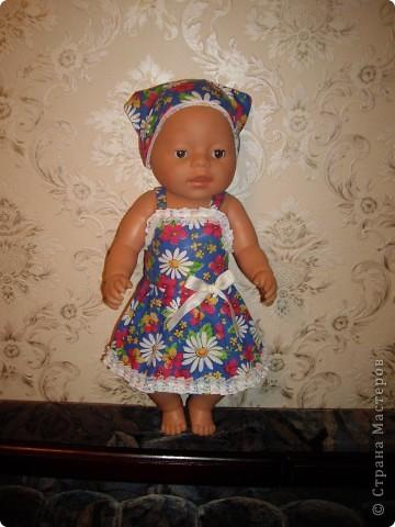 Платья для Беби Борн фото 1
