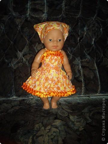Платья для Беби Борн фото 5
