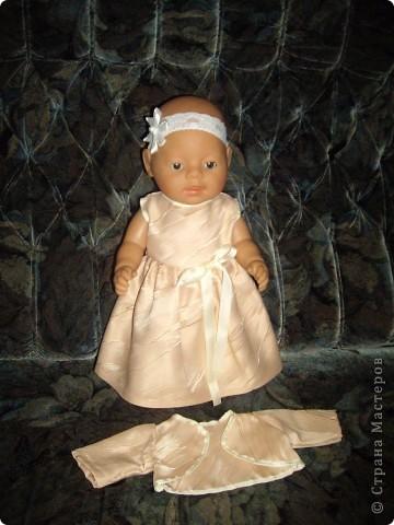 Платья для Беби Борн фото 4
