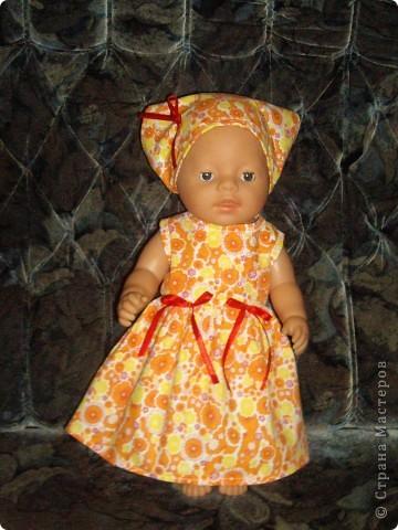 Платья для Беби Борн фото 2