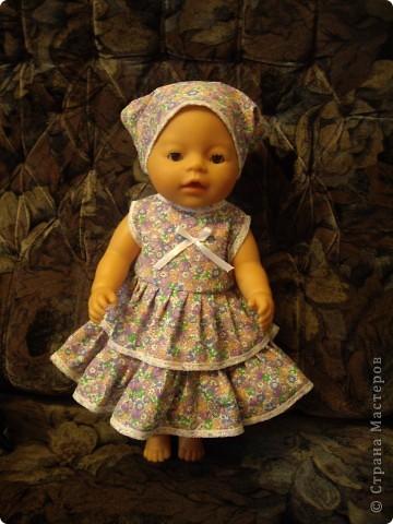 Платья для Беби Борн фото 6