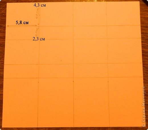 """Пункт 1. Я начала работу с изготовления выдвижных ящиков. А именно не с самой коробочки, а того куда она будет задвигаться (не знаю как это правильно называется, извините, буду назвать их """"держатели""""). На листе А3 отметила такие размеры (по ширине листа). фото 1"""