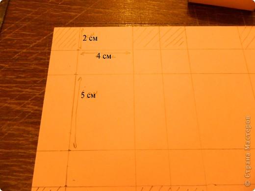 """Пункт 1. Я начала работу с изготовления выдвижных ящиков. А именно не с самой коробочки, а того куда она будет задвигаться (не знаю как это правильно называется, извините, буду назвать их """"держатели""""). На листе А3 отметила такие размеры (по ширине листа). фото 4"""