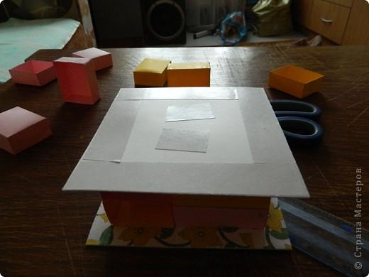 """Пункт 1. Я начала работу с изготовления выдвижных ящиков. А именно не с самой коробочки, а того куда она будет задвигаться (не знаю как это правильно называется, извините, буду назвать их """"держатели""""). На листе А3 отметила такие размеры (по ширине листа). фото 13"""