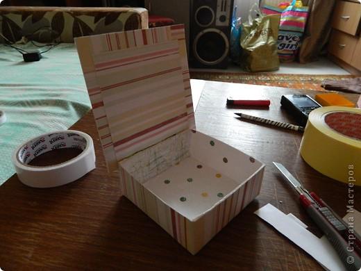 """Пункт 1. Я начала работу с изготовления выдвижных ящиков. А именно не с самой коробочки, а того куда она будет задвигаться (не знаю как это правильно называется, извините, буду назвать их """"держатели""""). На листе А3 отметила такие размеры (по ширине листа). фото 21"""