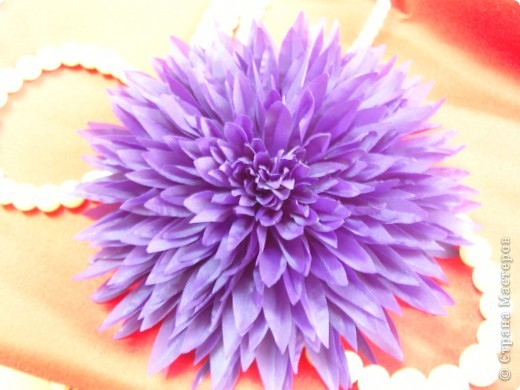 Цветы из ткани.. фото 1
