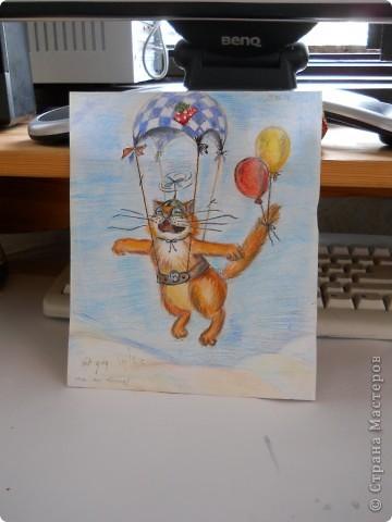 Рыжий мечтатель-эктремал, в полете к солнцу, выбрал транспорт по себе :-))) фото 2
