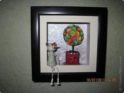дерево и кот ученый фото 1