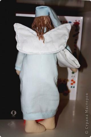 Тильда сонный ангел. Мой первый опыт.  фото 2