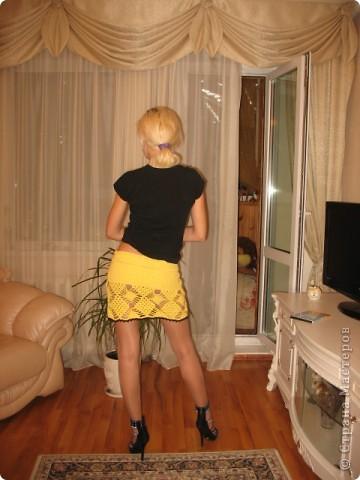 Мы с подружкой решили пошалить и я ей связала вот такую вот дерзость))))  фото 2