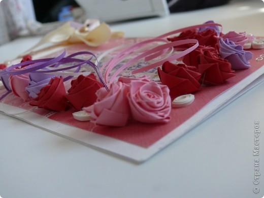 Комлект: свадебная открытка и конверт для денег фото 3