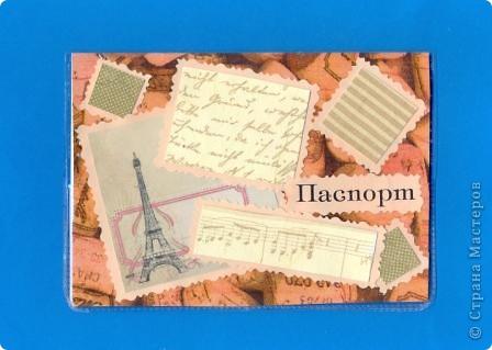 Ещё одна обложка на паспорт фото 3