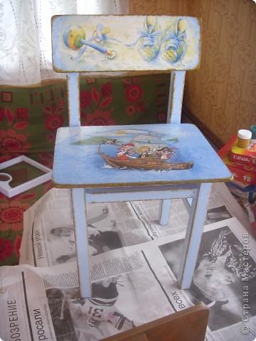 Переделка стульчика фото 1